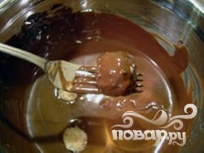 Кокосовые шарики в шоколаде - фото шаг 6