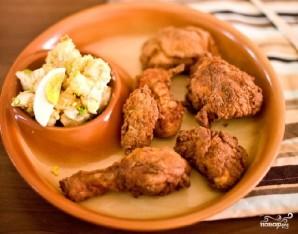 Картофельный салат с курочкой - фото шаг 9