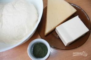 Закусочный сырный пирог - фото шаг 1