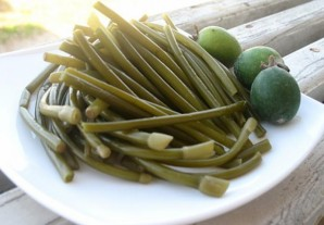 Маринованный зеленый лук на зиму - фото шаг 3