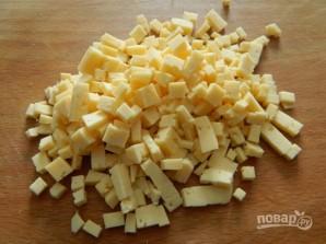 Куриные оладьи с сыром и зеленью - фото шаг 3