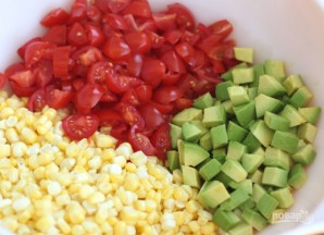 Авокадо: рецепт салата - фото шаг 2