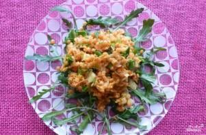 Салат с красной чечевицей - фото шаг 4