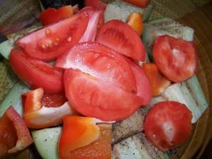 Запеченные овощи в фольге - фото шаг 2