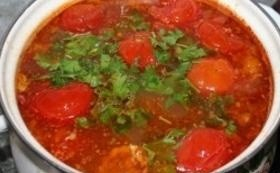 Суп из баранины и риса - фото шаг 9