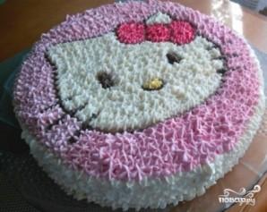 Детский торт для девочки - фото шаг 14