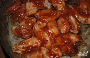 Куриные крылышки барбекю - фото шаг 3