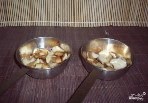Жюльен из кальмаров с грибами - фото шаг 2