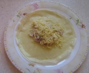 Блинчики с сыром - фото шаг 2