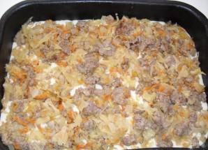 Пирог с капустой и мясом - фото шаг 6