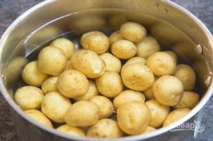 Хрустящая мятая картошка - фото шаг 2