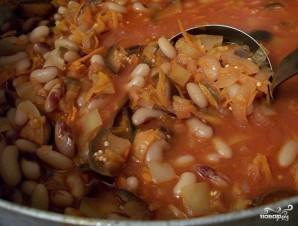 Салат с бобами на зиму - фото шаг 9