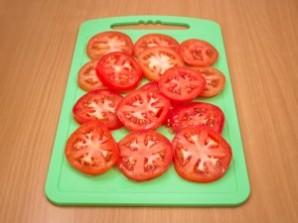 Баклажаны запеченные с томатами и сыром - фото шаг 3