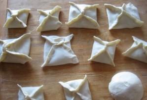 Пирожки без дрожжей - фото шаг 9