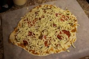 Классическая итальянская пицца - фото шаг 17