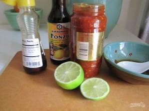 Салат с кальмаром и грибами - фото шаг 4