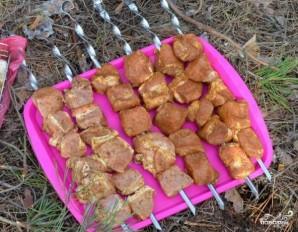 Шашлык из корейки свинины - фото шаг 5