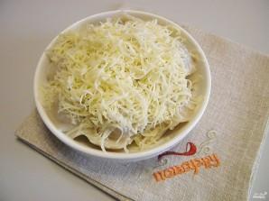 Пельмени с сыром в духовке - фото шаг 12