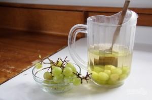Маринованный виноград - фото шаг 2