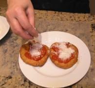 Pizzelle Fritte, жаренная пицца - фото шаг 8