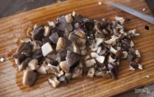 Икра из замороженных грибов - фото шаг 2