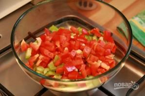 Салат из кукурузы и сухариков - фото шаг 2