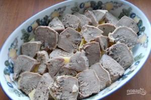 Язык свиной, запеченный в духовке - фото шаг 4