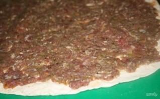 Пирог из лаваша с мясом - фото шаг 3