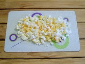 Суп с зеленью и яйцом - фото шаг 7