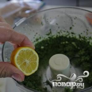 Паста с соусом Песто из капусты кале и грецких орехов - фото шаг 4