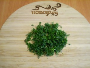 Капустные оладьи с манкой - фото шаг 7