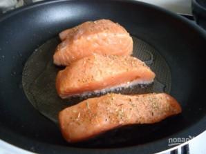 Сливочный соус для семги - фото шаг 3