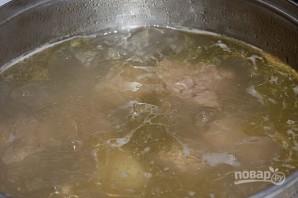 Суп гороховый с сухариками - фото шаг 2
