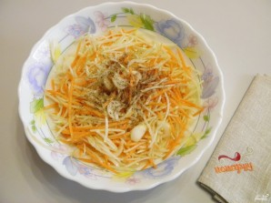 Кабачки с морковью и луком на зиму - фото шаг 4