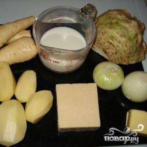 Выпечка из сыра и картофеля - фото шаг 1