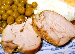 Бастурма из куриной грудки - фото шаг 5