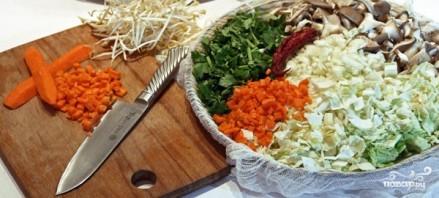 Овощной бульон в пароварке - фото шаг 2