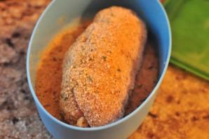 Курица на сковороде с сыром - фото шаг 3