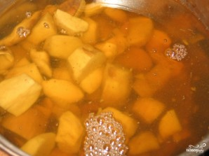 Чешский картофельный суп - фото шаг 1