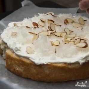 Кокосовый пирог с кремом - фото шаг 10