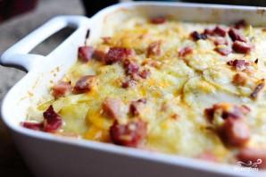 Запеченный картофель с ветчиной - фото шаг 7