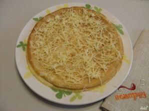 Блинный торт с сыром - фото шаг 5