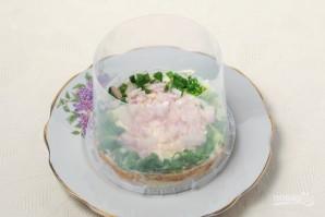 "Салат ""Мимоза"" (рецепт с рисом) - фото шаг 3"