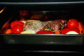 Жаркое из баранины в духовке - фото шаг 5