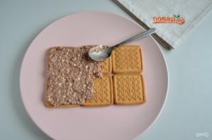 Торт без выпечки из печенья и творога - фото шаг 5