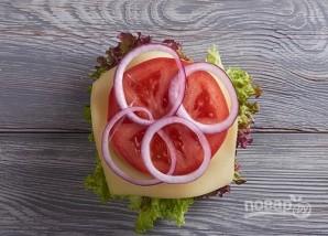 Классический американский бургер - фото шаг 9