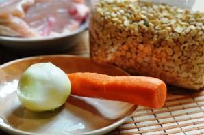 Гороховое пюре с мясом - фото шаг 1