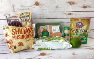 Салат с брокколи и грибами - фото шаг 1