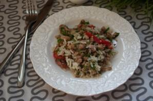 Салат с фаршем мясным - фото шаг 8