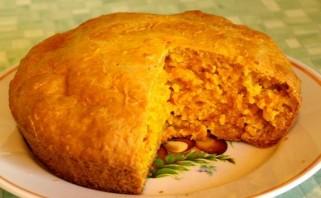 Пирог без яиц - фото шаг 9